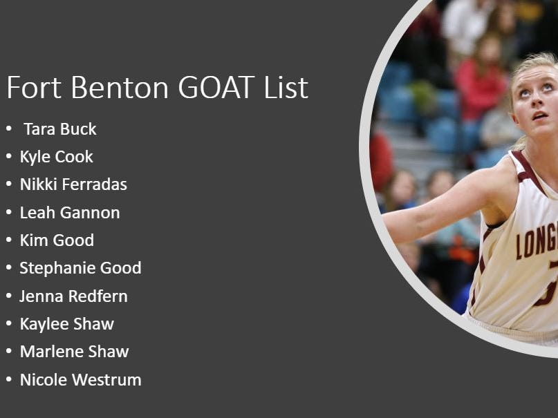 Fort Benton GOAT List
