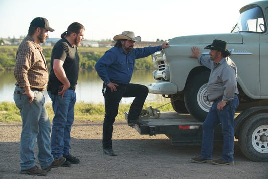 The Eli Boys From Left To Right Josh Cory Jason Jim Set A Game Plan For The First Episodes Flip 1958 Chevy Apache