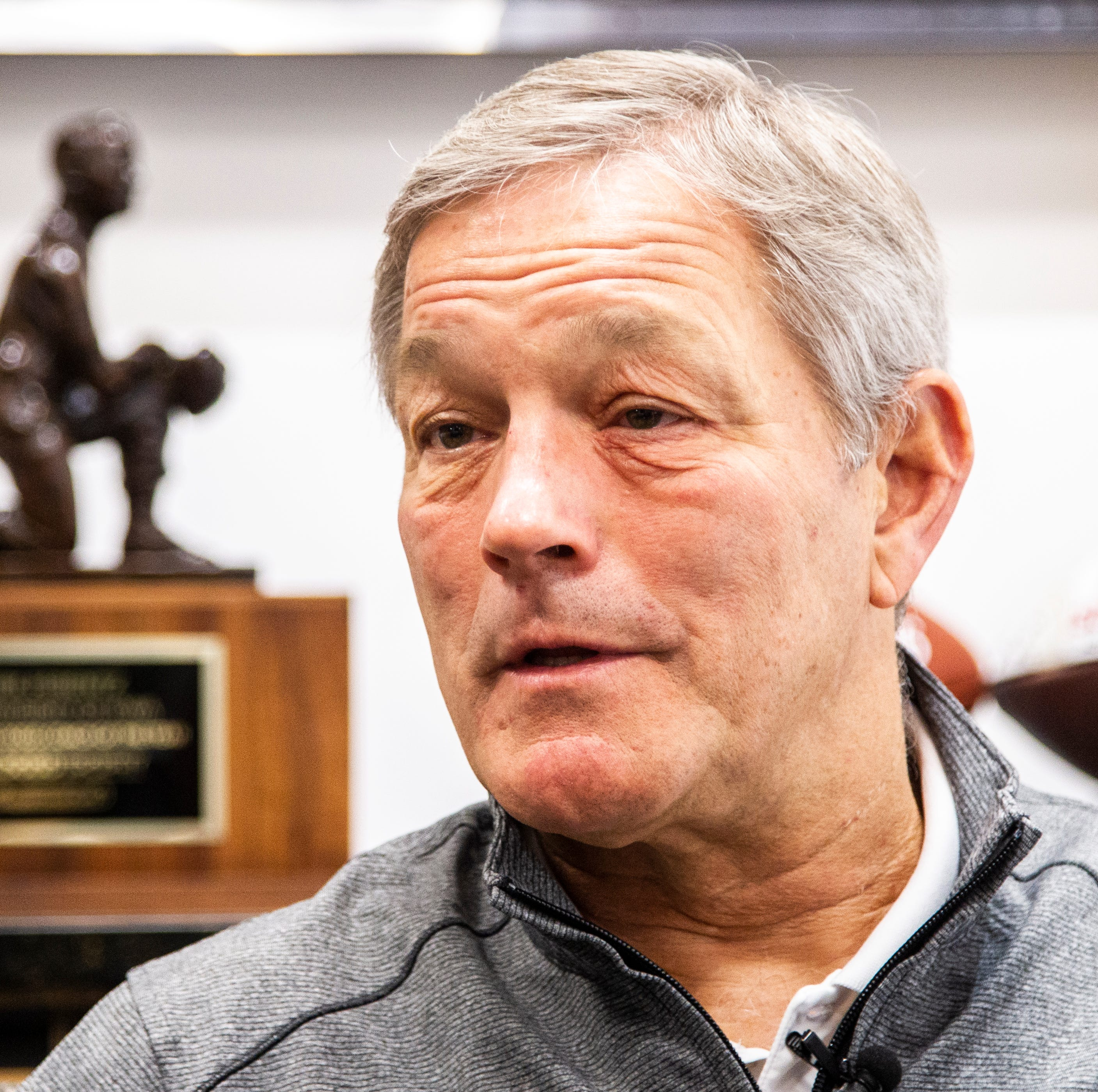 Leistikow: In spring-opening comments, Kirk Ferentz sets high bar for 2019 Hawkeyes