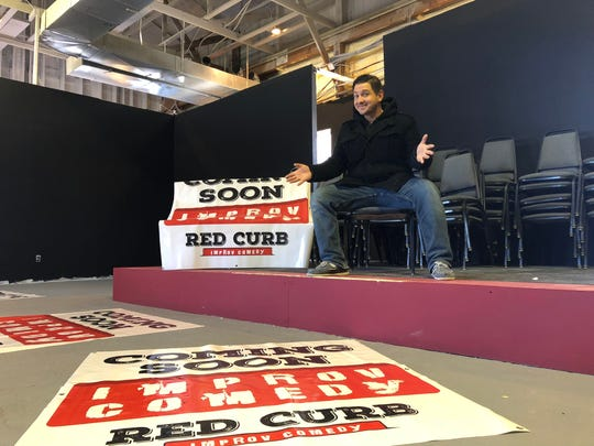 Will Pfaffenberger opened the Red Curb Improv Comedy Theatre in February 2018.