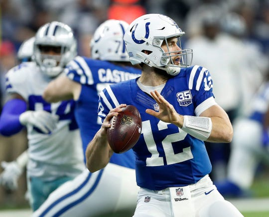 "Says former Colts QB Matt Hasselbeck: ""If you ask the offensive line, or any of those guys, they'd say it's so much fun playing with Luck, playing with 12."""