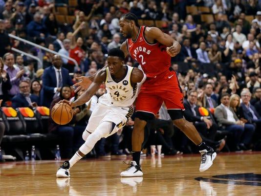 Nba Indiana Pacers At Toronto Raptors