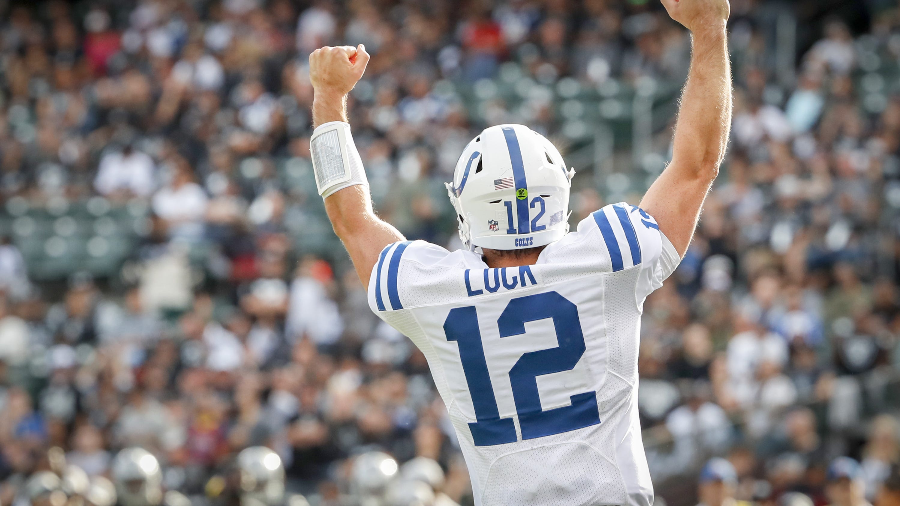 The view from inside: Andrew Luck's comeback season