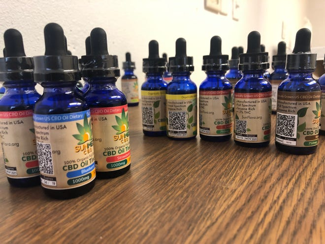 Your CBD Store in Iowa City opens its first location on Scott Court, Dec. 20, 2018.