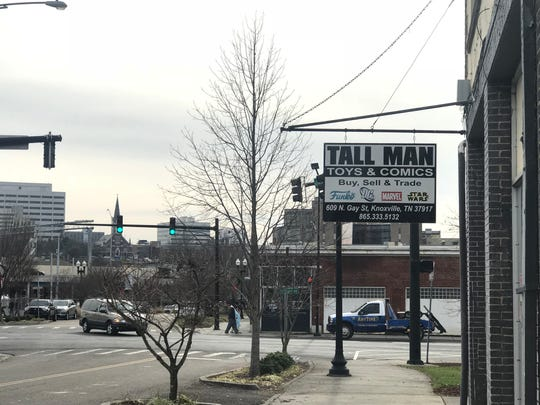 Tall Man Toys & Comics on North Gay Street in the Old City
