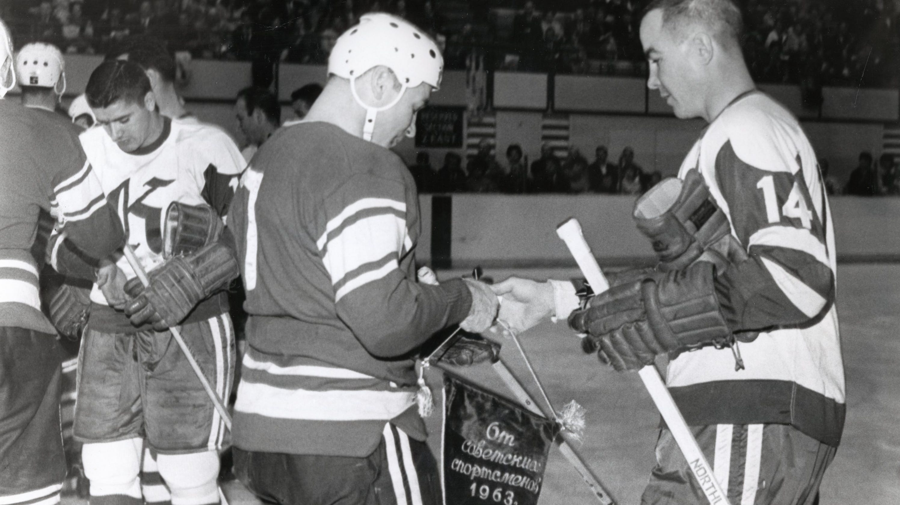 When Knoxville played the Soviets at Civic Coliseum in 1963