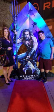 Jennifer Rice and her son, Ramsey, attended an Aquaman movie premier party - to which Ramsey wore shorts. He opts for shorts just about every day, regardless of the weather or where he's headed.