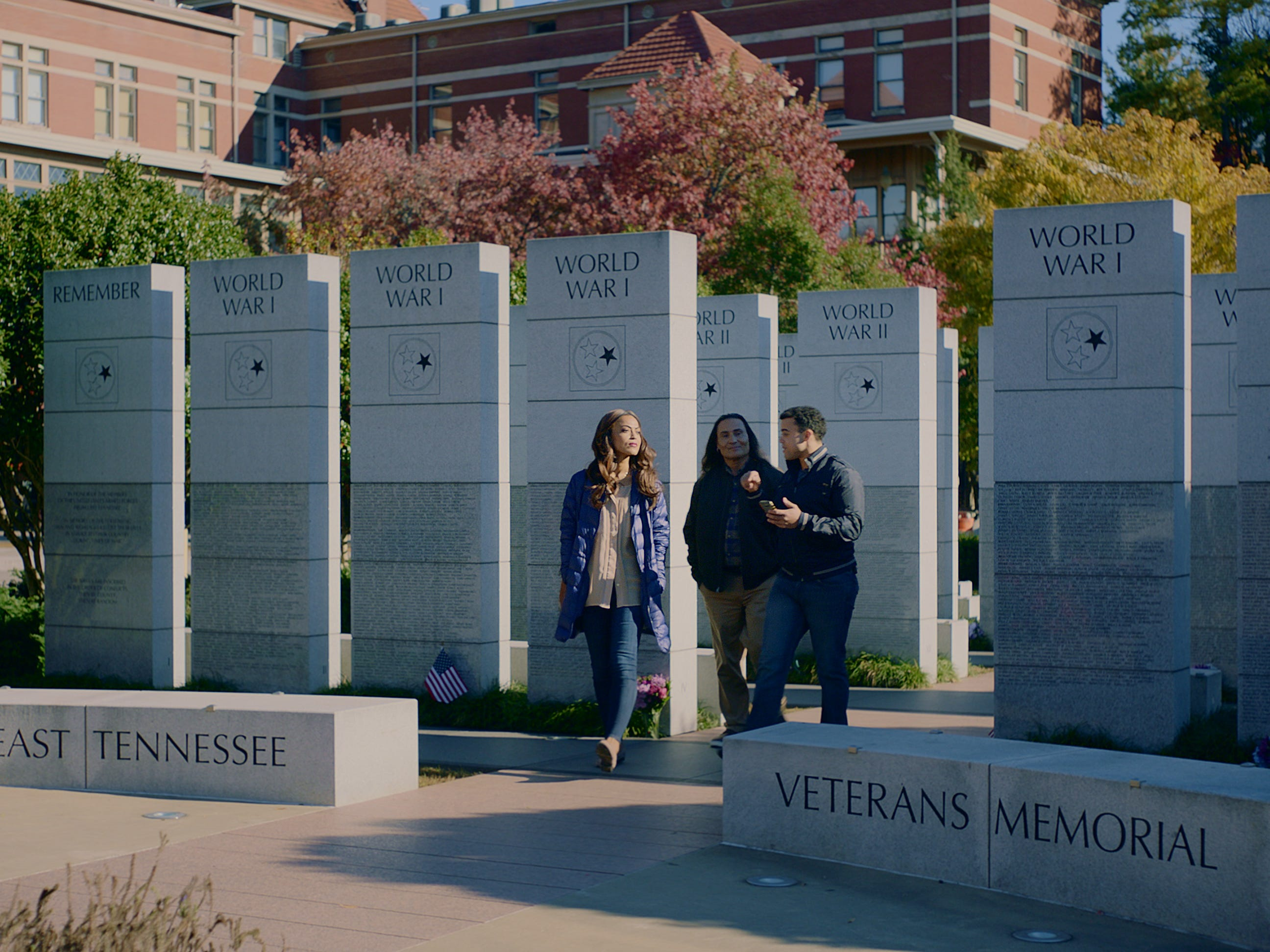 "The East Tennessee Veterans Memorial served as one of the filming locations for the upcoming movie, ""No Time to Run."""