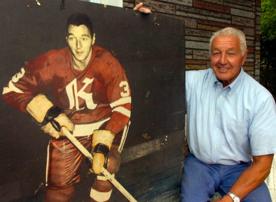 Don Labelle played and coached hockey for the Knoxville Knights in the late 1960s, as seen in the photo on the left. After moving back to Knoxville, Labelle said staff at the Civic Coliseum found the old photo and asked if he wanted it. He will be inducted into the Greater Knoxville Sports Hall of Fame.
