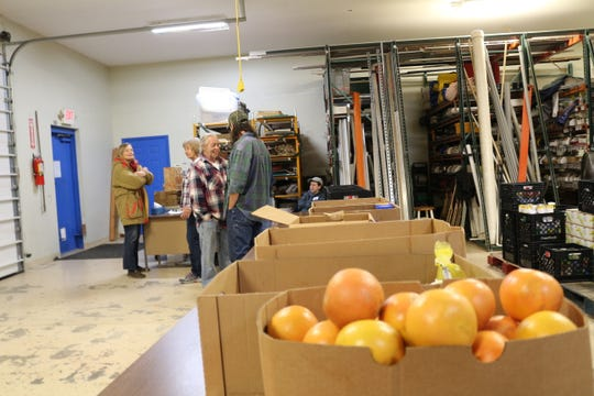 Twice a week, the East Tennessee Permaculture Research Institute houses the FISH Hospitality Pantry, a program that provides free groceries to those who need them.
