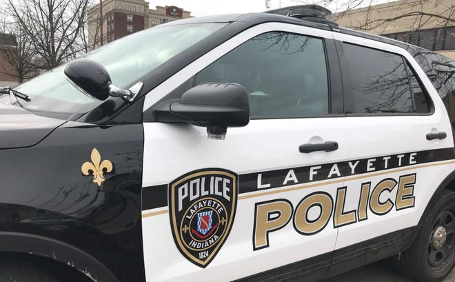 A Lafayette couple reported being robbed late Tuesday inside their hotel room, according to police reports.