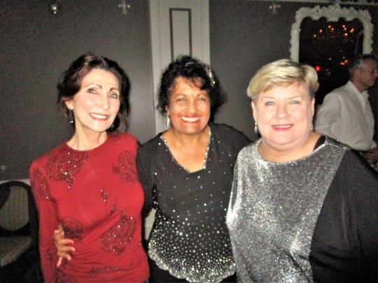 Pat Simon, Ann Porche and Susan Marvin