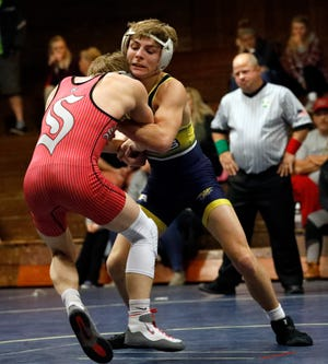 After finishing as state runner-up his junior season, Lancaster senior Logan Agin was gunning to win a state title, but was denied that chance one day before the state tournament when it was canceled because of the coronavirus pandemic. Agin had a 45-2 record his senior year and finished his career with a sparkling 171-11 mark.
