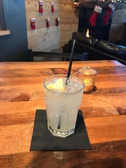 The Pineapple Mule at Michigrain is made with Michigrain pineapple, lavender vodka, ginger beer and a splash of fresh lime juice.