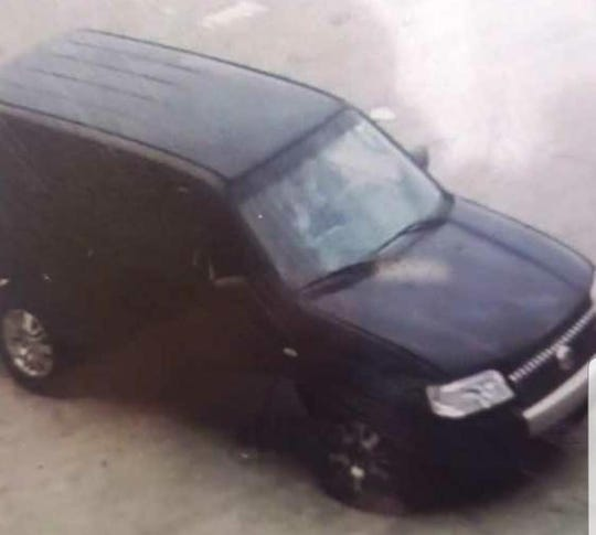 Police say this is the truck suspected shooter was driving at Oak Court Mall.