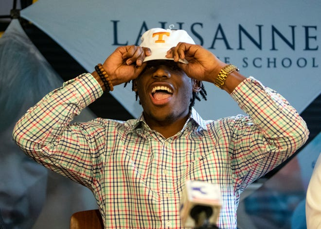 The four-star running back, Eric Gray, announced that he will attend Tennessee