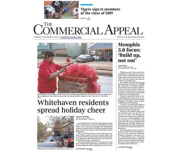The Commercial Appeal, Thursday, Dec. 20, 2018
