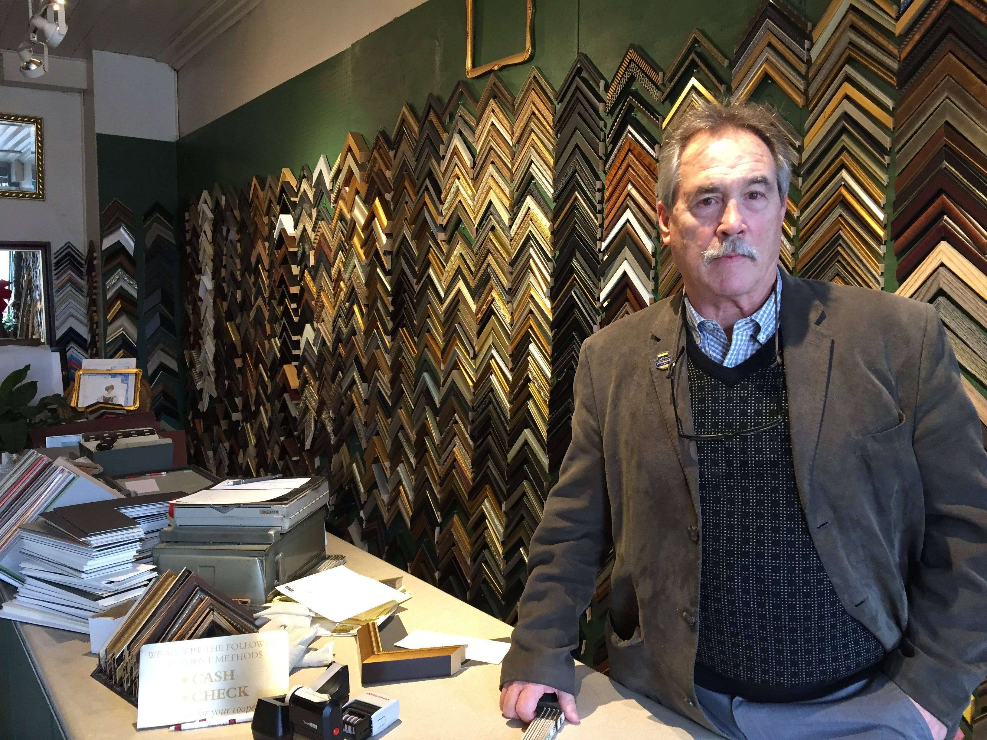 Tom Deer, co-owner of Milwaukee Moulding & Frame, 1215 N. Water St., is closing the shop after 100 years in business.