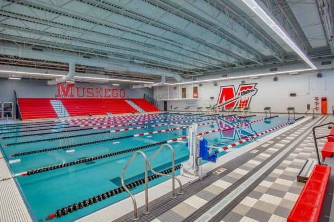 The new Muskego natatorium will be open for public use on the weekends beginning in January.