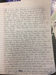 Wisconsin safety D'Cota Dixon volunteered to be a pen pal for a local elementary school student, Edward, and encouraged him not to be dismayed by negative comments from others.