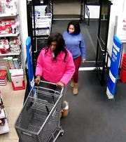 Two of the four suspects were captured by Burlington Coat Factory security cameras.