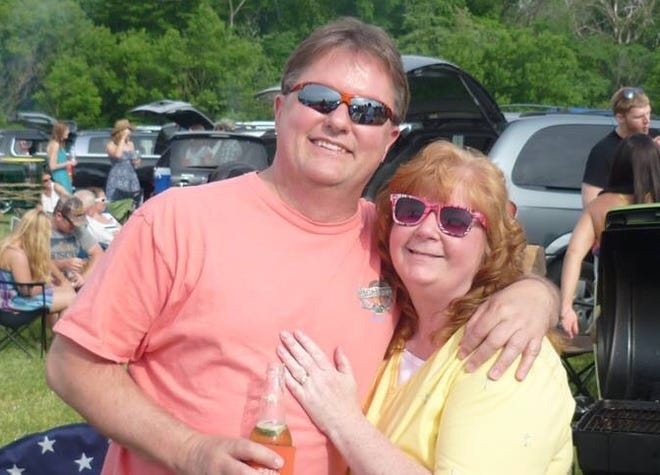 Rick and Sherry Perkins of Pewaukee are active members of the Milwaukee Area Parrothead Association. The pair attended a Jimmy Buffett show at Alpine Valley Music Theatre in 2015.