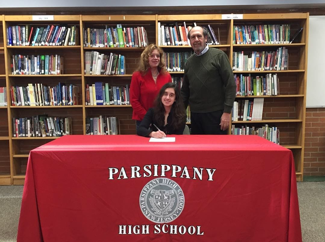 Parsippany senior bowler Lauren Marks signed a National Letter of Intent with Fairleigh Dickinson.