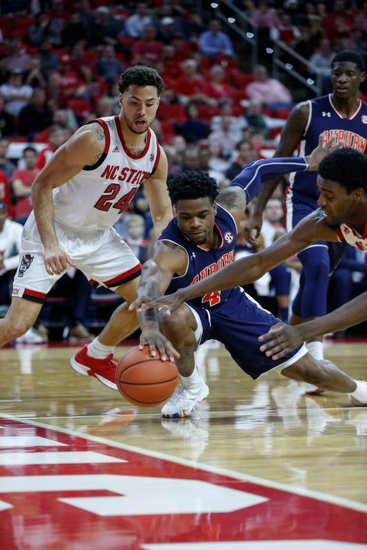 Ncaa Basketball Auburn At N C State