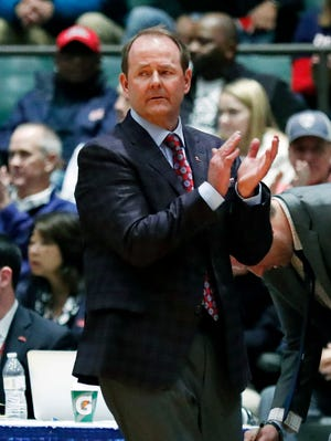 Coach Kermit Davis is in his first season at Ole Miss after spending 16 at MTSU.
