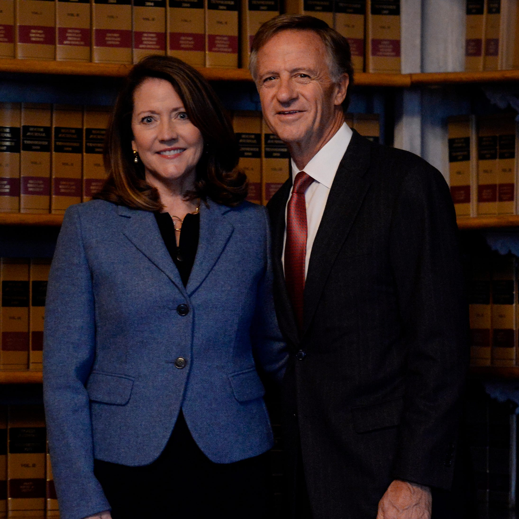 Bill and Crissy Haslam honored as Tennessean People of the Year for their service