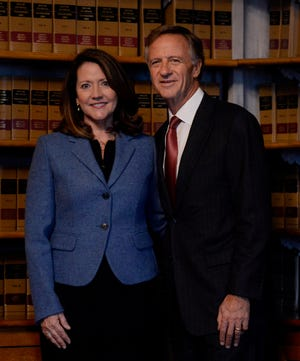 Tennessee Gov. Bill Haslam and first lady Crissy Haslam are two of The Tennessean editorial board's 2018 People of the Year.