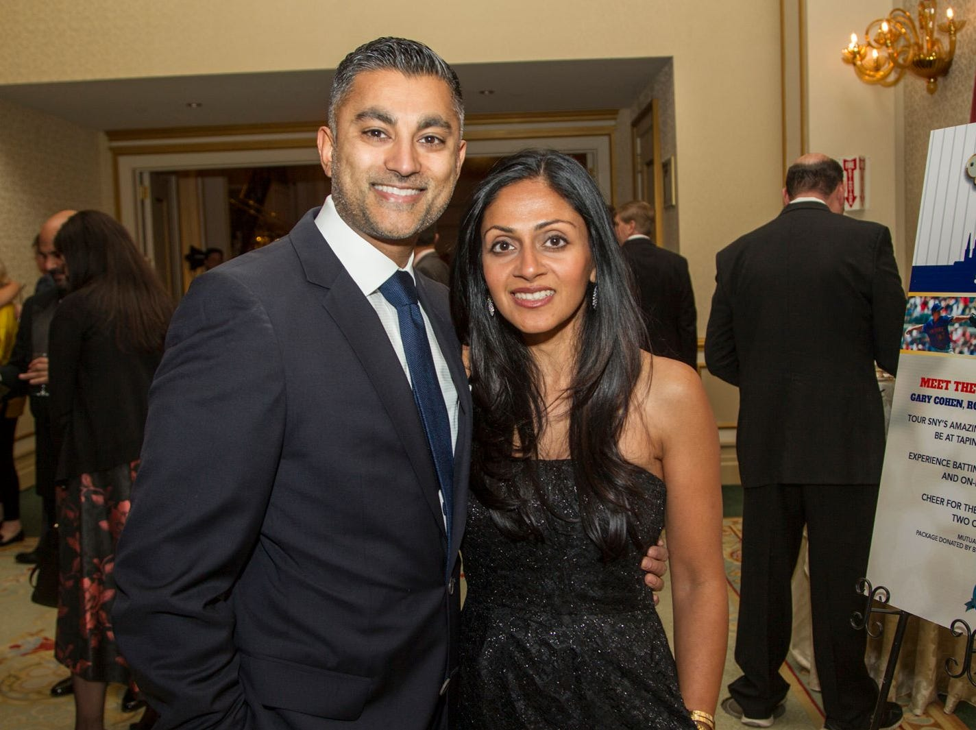 "Amit and Puja Gaglami. Alpine Learning Group held its ""Fall Affair 2018 - Celebrating 30 Remarkable Years"" at The Grove in Cedar Grove. 10/27/2018"