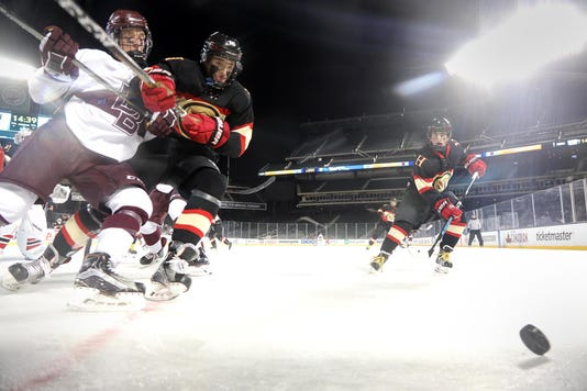 Don Bosco Vs The Hun School Outdoor Hockey At Citi Field