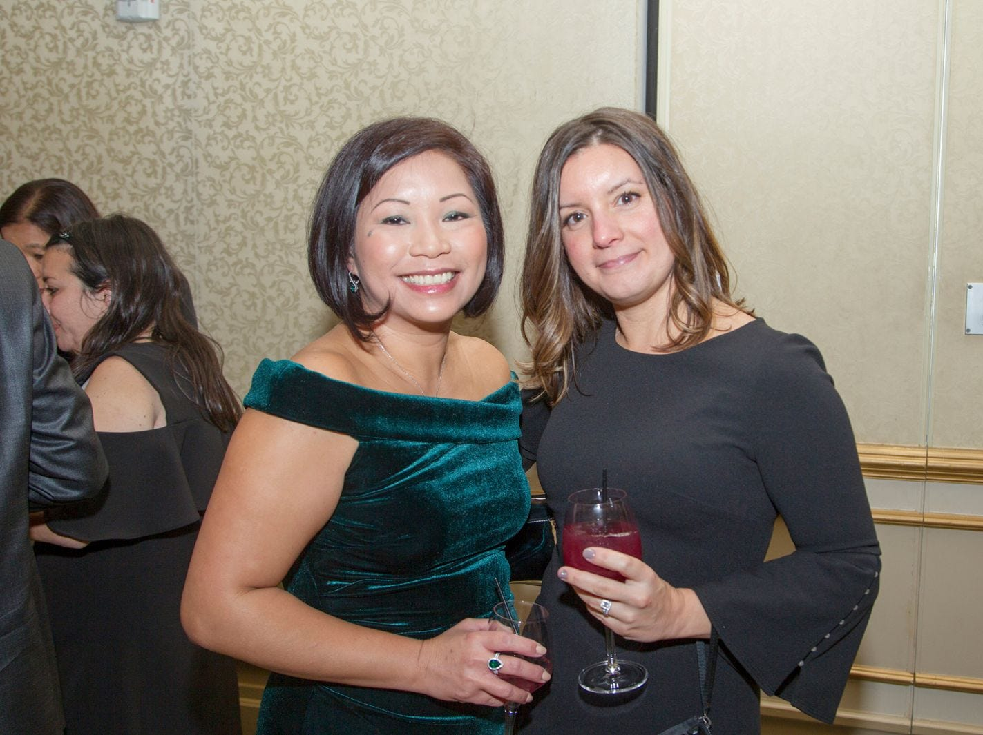 "Marie Nugiel and Melisa Parliaros. Alpine Learning Group held its ""Fall Affair 2018 - Celebrating 30 Remarkable Years"" at The Grove in Cedar Grove. 10/27/2018"