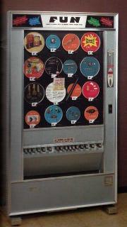 Mechanical Servants vending machine