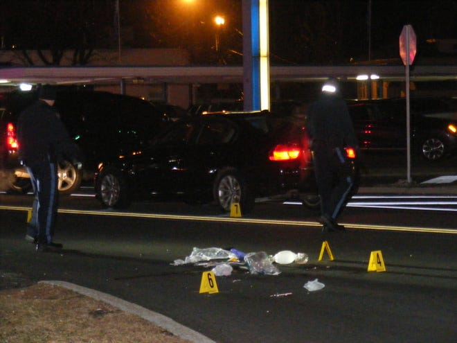 Authorities investigate after a Hawthorne man was fatally struck by a car on Goffle Road Dec. 19, 2018.