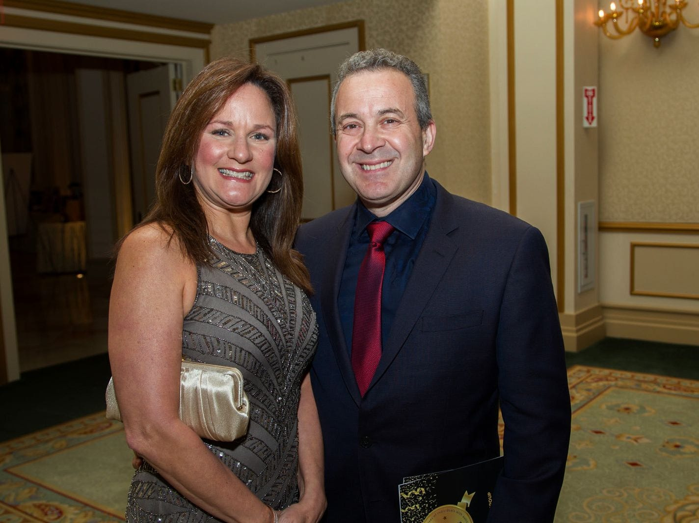 "Barbara and Rob DelVecchio. Alpine Learning Group held its ""Fall Affair 2018 - Celebrating 30 Remarkable Years"" at The Grove in Cedar Grove. 10/27/2018"
