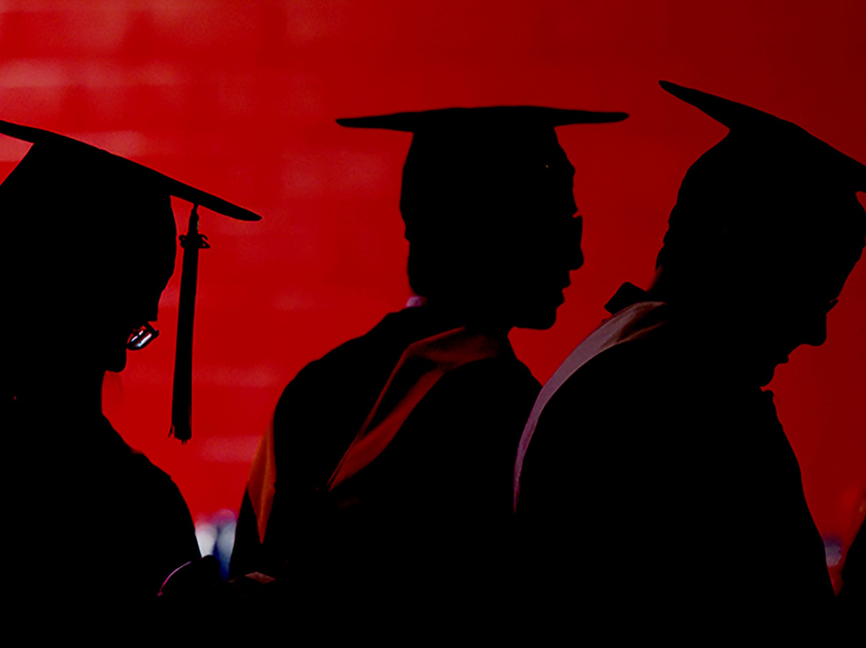 The 252nd commencement of Rutgers University was held at High Point Solutions Stadium in Piscataway on Sunday, May 13, 2018.