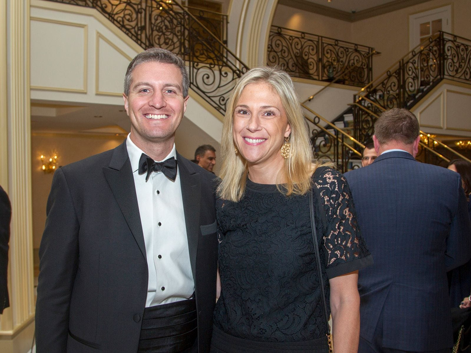 "Damien and Kate McGough. Alpine Learning Group held its ""Fall Affair 2018 - Celebrating 30 Remarkable Years"" at The Grove in Cedar Grove. 10/27/2018"