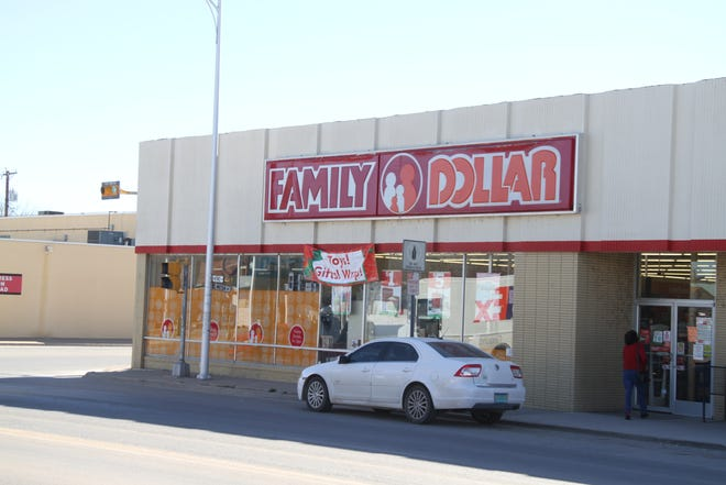 An armed robber walked into Family Dollar on Mermod Street Wednesday and got away in a Nissan 4-door passenger car.