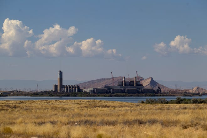The Four Corners Power Plant is pictured, Tuesday, Sept. 12, 2017 in Fruitland.