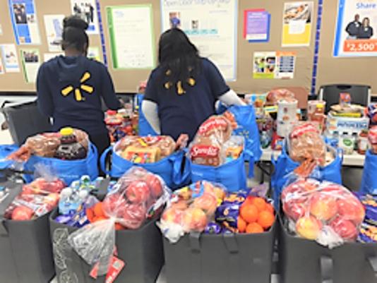 Walmart Donates Food