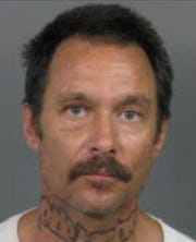 Edward Kasper, 53, was arrested Wednesday, Dec. 19, 2018, after Palm Springs police said he took holiday decorations from a home. He also was wanted ontwo misdemeanor warrants.