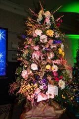 Floral Tribute Tree in Honor of Marc Byrd by designer Barbara Sellers