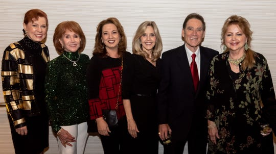 Melinda Reed, Karen Miles, Catharine Reed, Dr. Lisa Lindley, Ed Sher, Mona Sher.