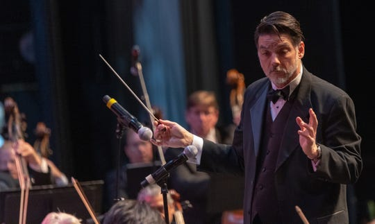Music Director and Conductor John Mario is always an audience favorite