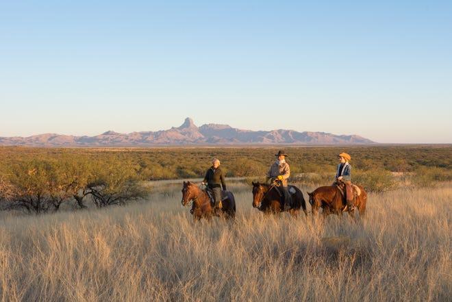 Horseback riding at Rancho de la Osa