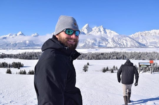Tyler Chase Norwood smiles for a picture in Jackson Hole, Wyoming. The Pensacola man died in a duck hunting accident on Nov. 10 in Venice, Louisiana.
