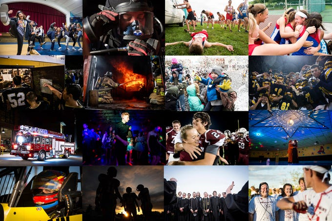 Staff photographer Dan Rainville and freelance photographer Harrison Jones pick their favorite shots from 2018.