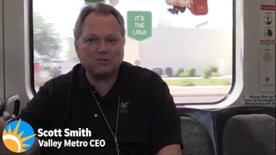 We caught up with the Valley Metro CEO to ask him questions about light rail and its future.